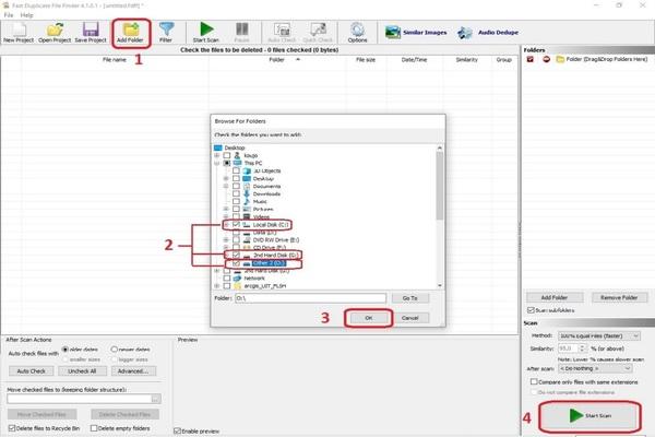 برنامج حذف الملفات المكررة 2020 مجانا للكمبيوتر