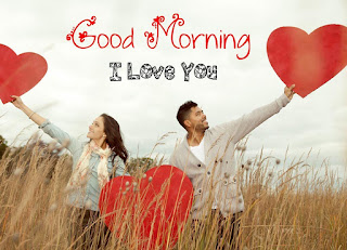 Romantic Good Morning I Love You Images for Husband, Wife