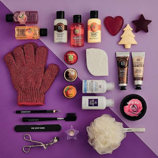 The Body Shop Advent Calendar 2017 | The Beauty is a Beast
