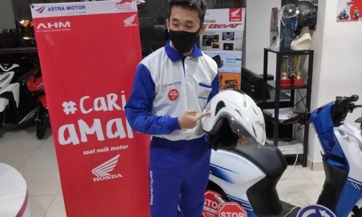 Webinar Edukasi Safety Riding Kembali Diadakan Honda Kalbar