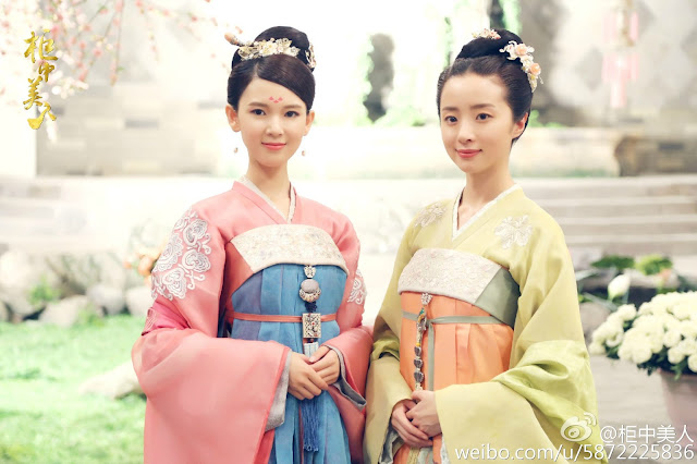 The Tangren beauties in Beauties in the Closet, a Chinese fantasy drama