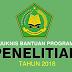 Juknis Bantuan Program Penelitian Tahun 2018 Dari Kemenag