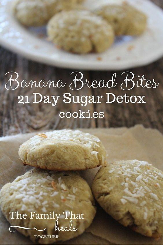 21 Day Sugar Detox Banana Bite Cookies