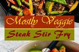 Mostly Veggie Steak Stir Fry
