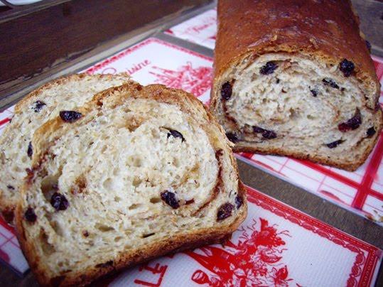 pan de molde de avena y canela