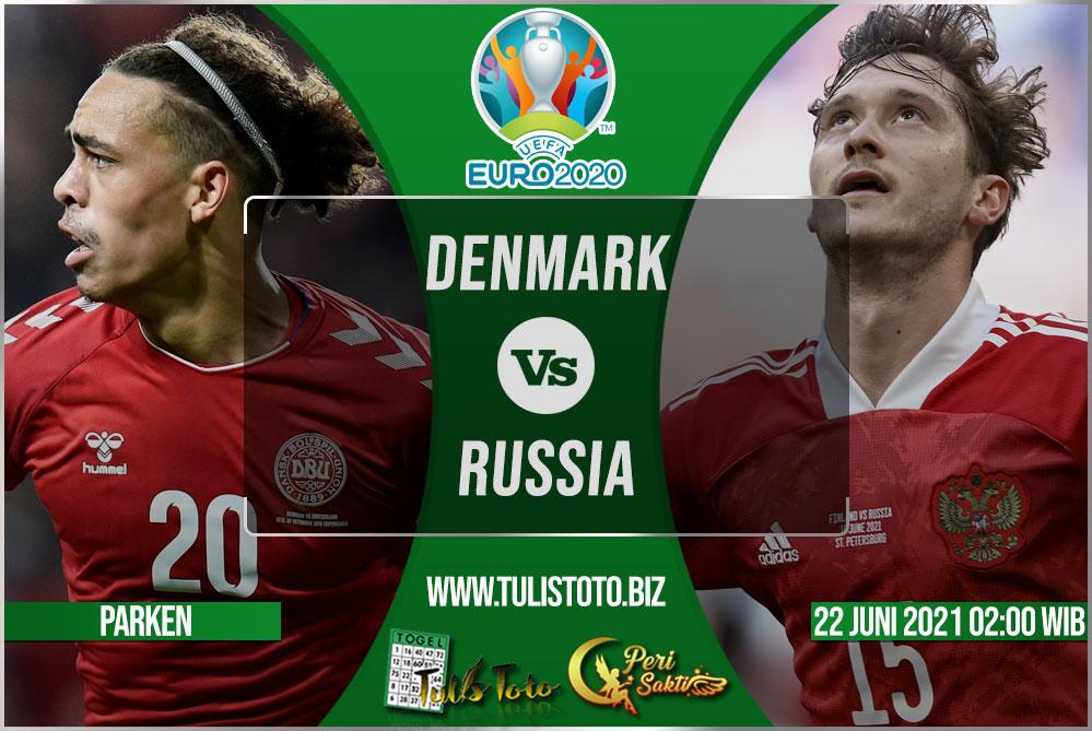 Prediksi Denmark vs Russia 22 Juni 2021