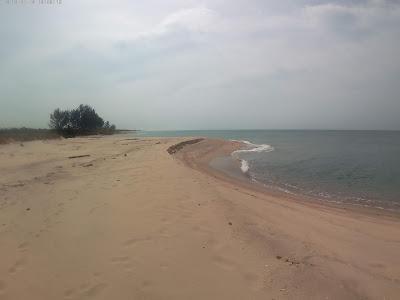 pantai merapin dekat desa lubuk besar