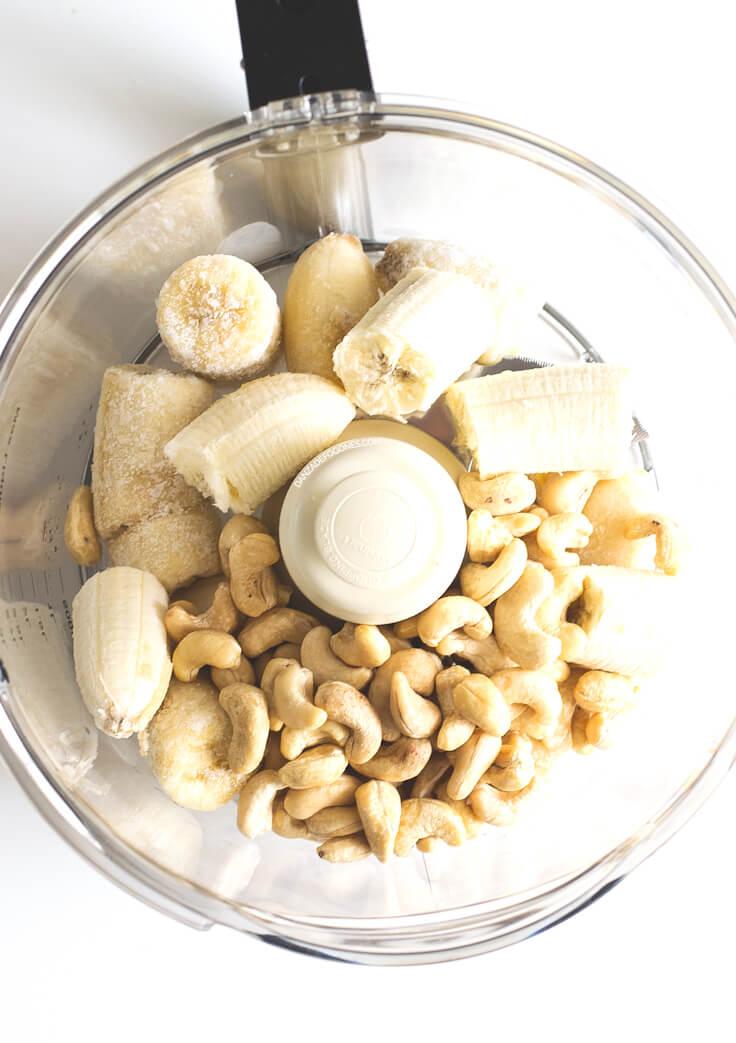 Ingredients for making banana pudding