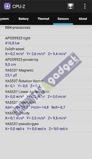 Sensor Vivo V5