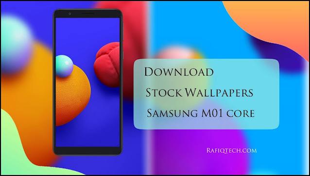 تحميل خلفيات سامسونج جالكسي M01 Core الرسمية بجودة عالية الدقة