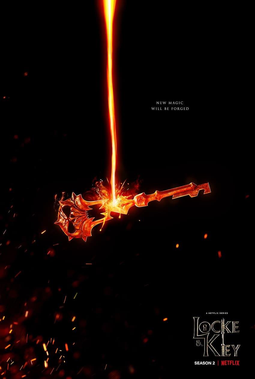 Netflix показал трейлер второго сезона фэнтези-сериала «Лок и ключ» - премьера в октябре - Постер