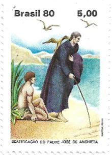 Selo Beatificação do Padre José de Anchieta