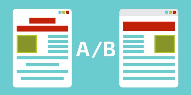 Ab Testing of Landing Page