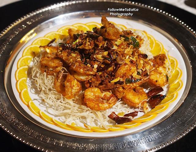 "Wok-fried Prawns ""Bei Fong Tong"" Style"