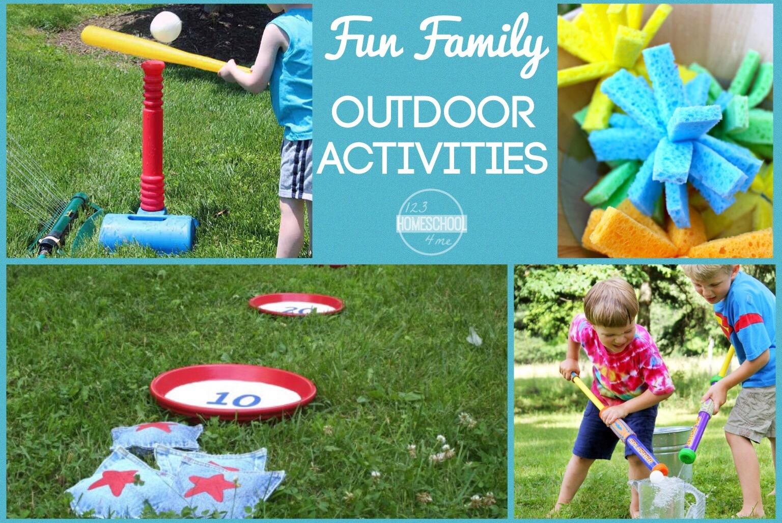 Fun Family Outdoor Activities