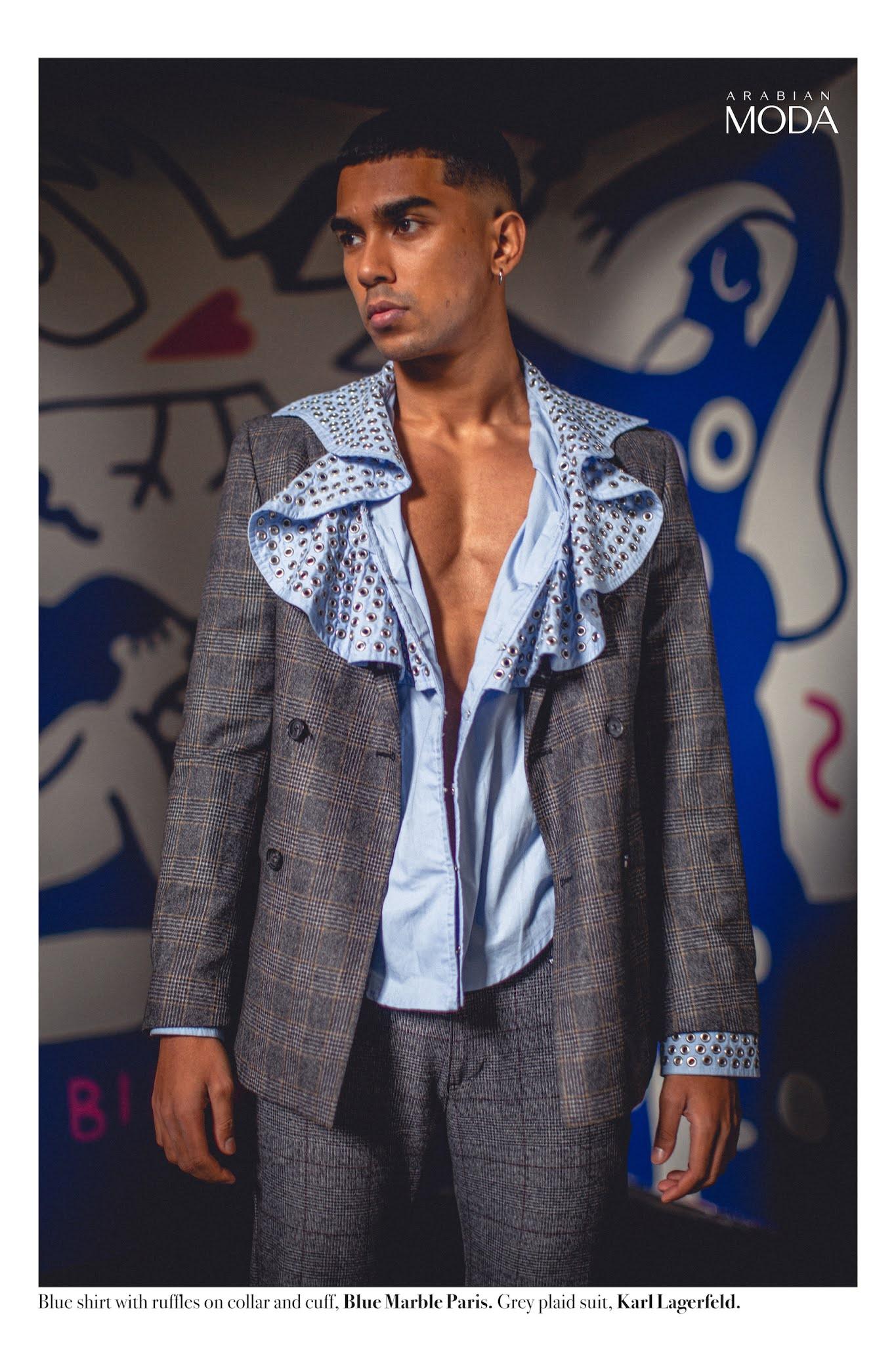 1- Arabian Moda x Blue Marble Paris x Lagerfeld