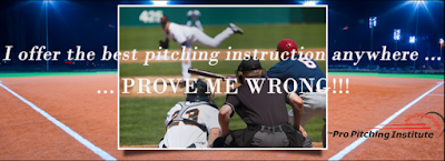 When you full-body delivery sends each pitch into your target, you maximize your throwing arm speed, your ball breaks closer to the plate than usual and you can be assured your fastball arm speed won't tip your pitches. Want this to describe you? Contact me to get the best pitching instruction anywhere!