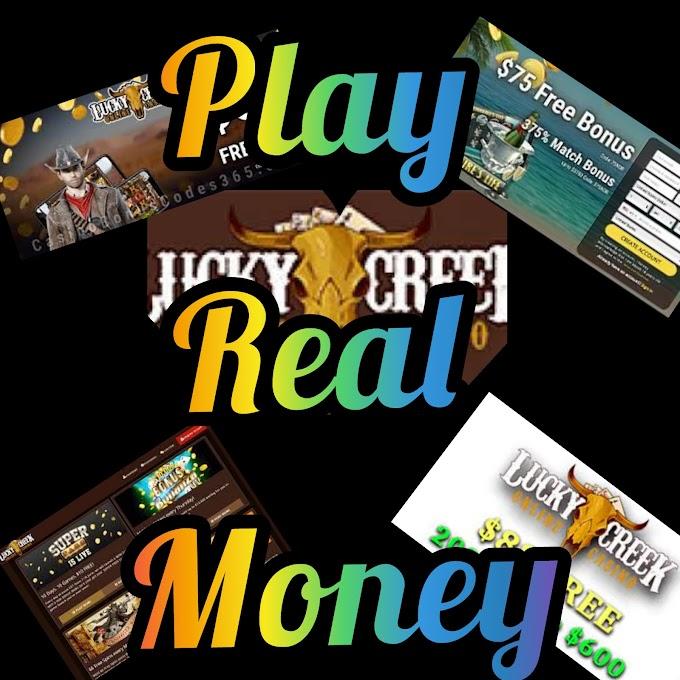 Lucky Creek Casino no deposit bonus codes 2021 | Play real money 💰| Reviews