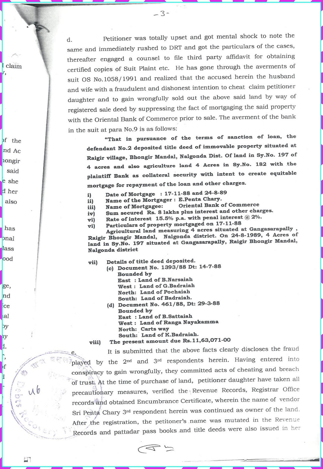 Claim Petition.No. 9 of 2010-D.R.T-1 Hyderabad-3