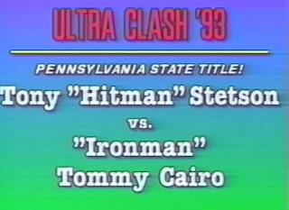 ECW Ultra Clash 1993 - Tony Stetson vs. Tommy Cairo
