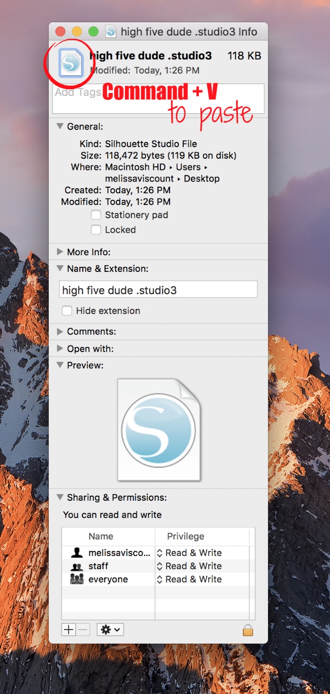 how to change your icon on mac