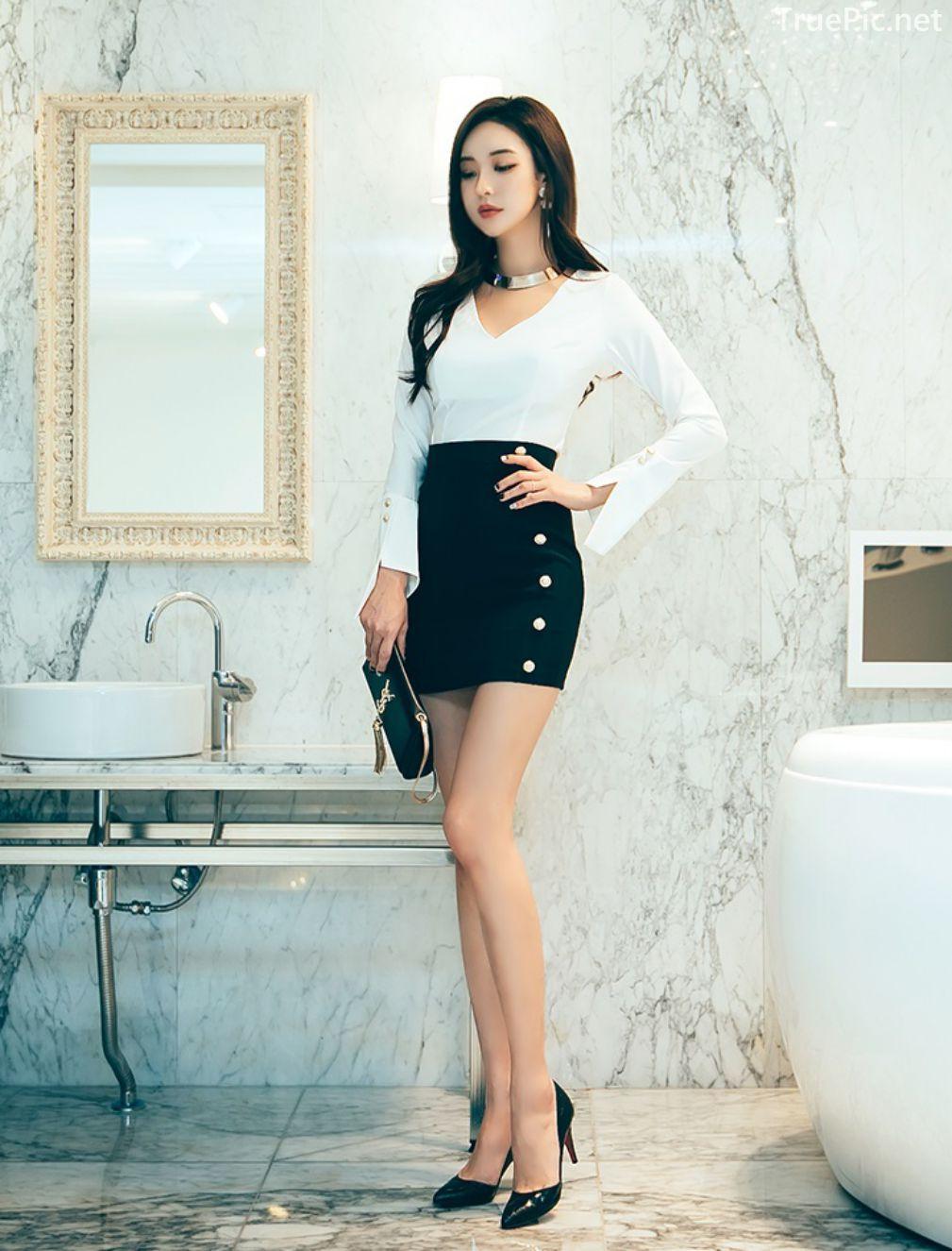 Korean Fashion Model - Park Da Hyun - Indoor Photoshoot Collection - TruePic.net - Picture 7