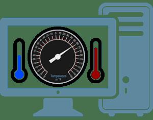 برنامج قياس درجة حرارة الكمبيوتر