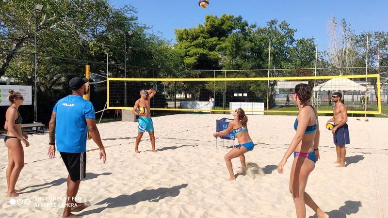 Προπονητικό camp Beach Volley της ΕΟΠΕ στην Αλεξανδρούπολη