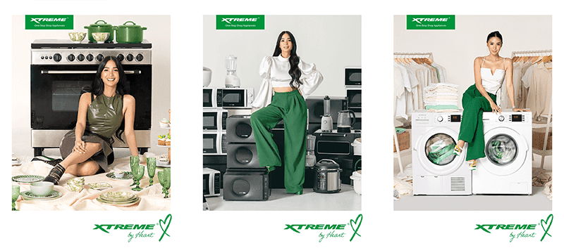 Heart Evangelista is the newest face of XTREME Appliances!