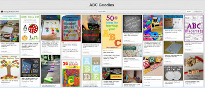 ABC goodies pinterest board