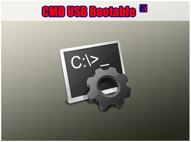 Tutorial lengkap cara membuat bootable OS USB dengan CMD