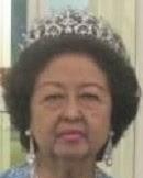 diamond palmette tiara queen raja perempuan muzwin perak malaysia