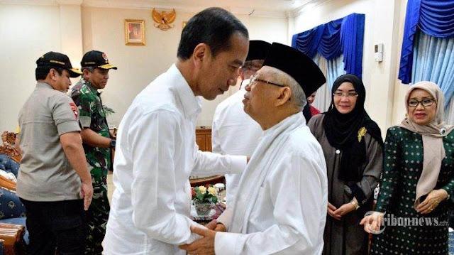 Sebut Demokrasi Indonesia di Bawah Timor Leste, Rocky: Ma'ruf Amin Diam-diam Protes Jokowi