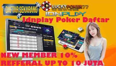 Idnplay Poker Daftar