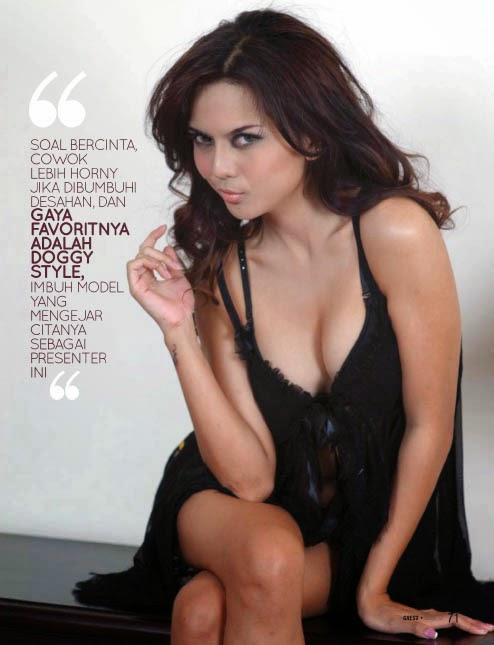IFKMedia.com - Galeri Foto Anggita Sari Tanpa Sensor di Gress Magazine