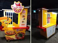 Gerobak Pizza Unik Rp 4.900.000 - Jasa pembuatan Gerobak Unik Bandung