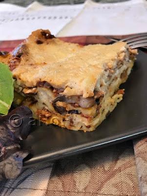 Lamb & Mushroom Lasagna