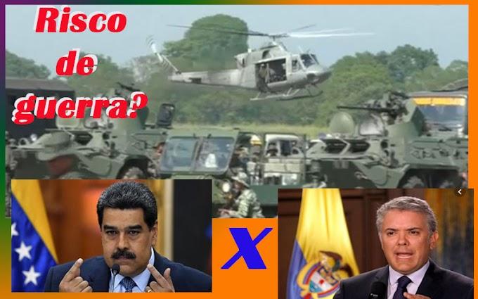Risco de guerra entre Colômbia e Venezuela, por Sérgio Pires