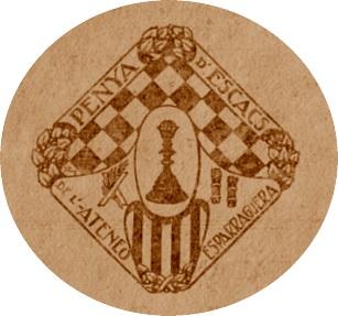 Emblema de la Penya d'Escacs de l'Ateneu d'Esparreguera