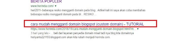 pencarian artikel di google searc engine
