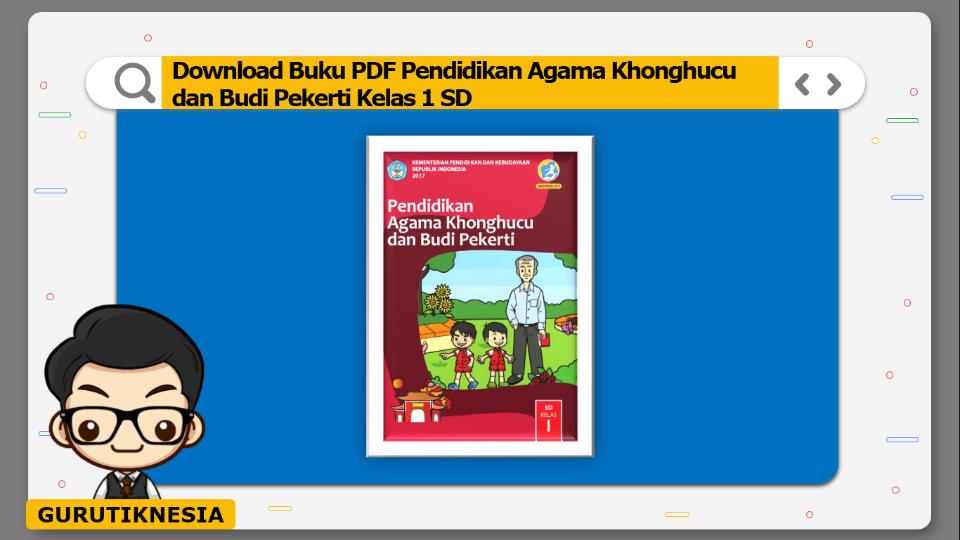 download buku pdf pendidikan agama khonghucu dan budi pekerti kelas 1 sd
