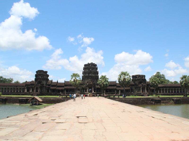 Angkor Wat Cielo Azul
