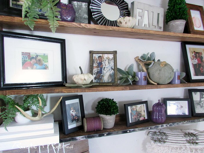 Fall decor ideas for a small entryway with huge impact!