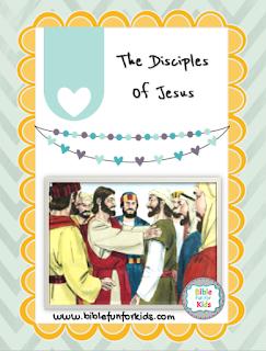 http://www.biblefunforkids.com/2017/01/47-jesus-his-disciples.html