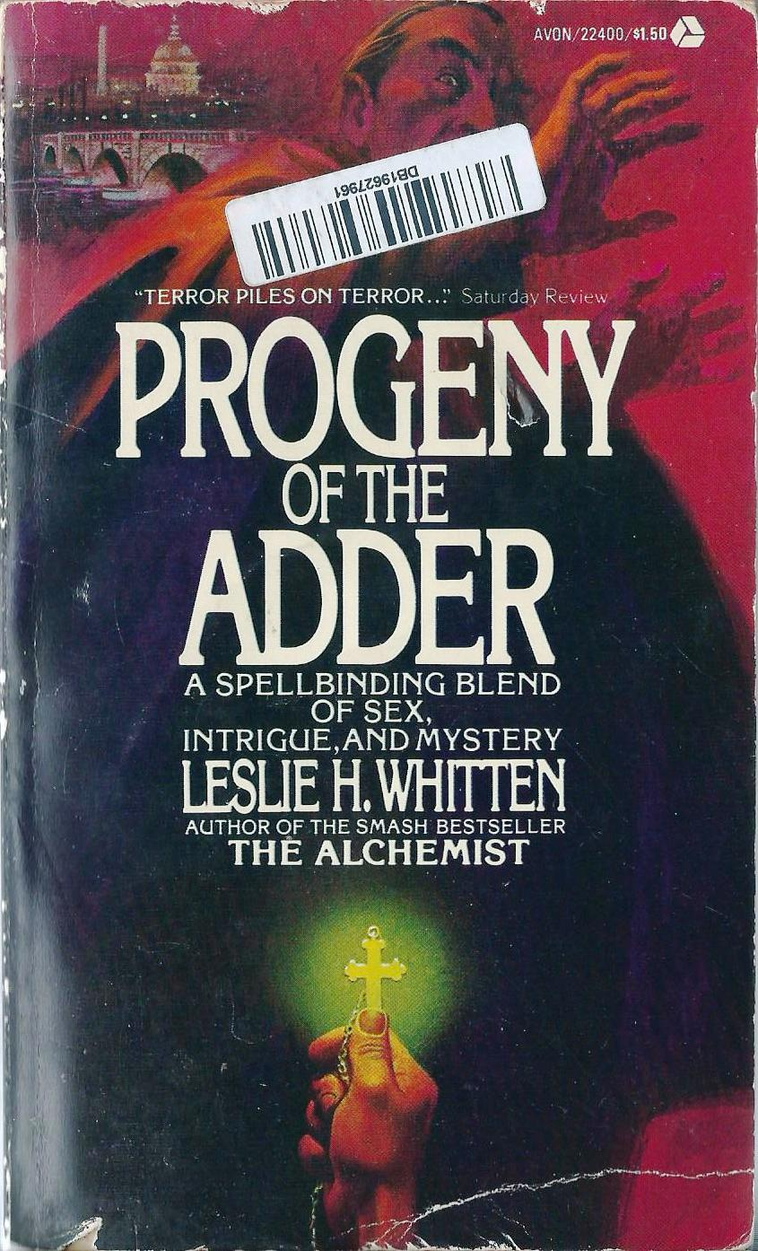 the porpor books blog sf and fantasy books 1968 1988 book book review progeny of the adder by leslie h whitten
