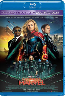 Captain Marvel 2019 Open Matte BDRip HD 1080p Dual Latino