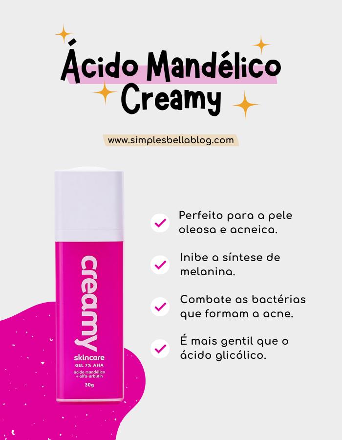 Ácido Mandélico Creamy