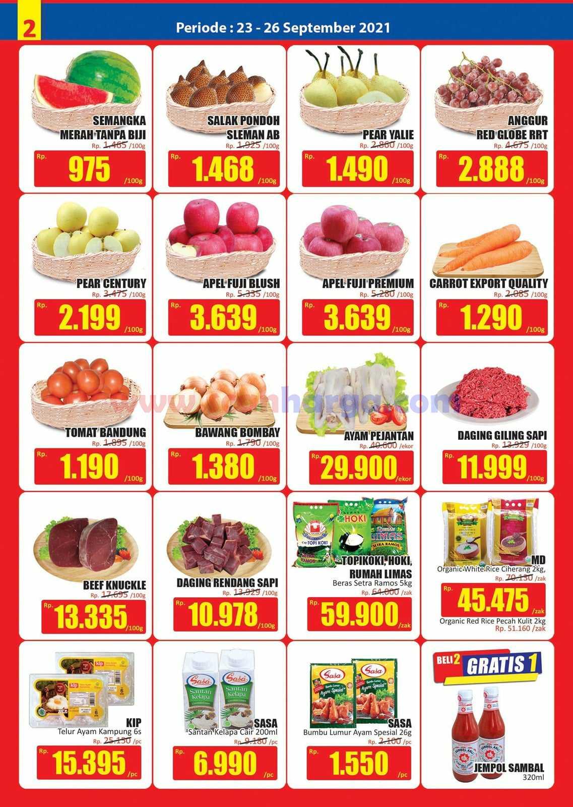 Katalog Promo JSM Hari Hari Swalayan Weekend 23 - 26 September 2021 2