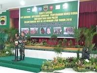Acara Seremonial Kegiatan Bhakti Sosial Dalam Rangka HUT Ke-69 Kodam I/BB Dihadiri Danrem 022/PT