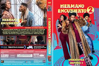 CARATULA 1 HERMANO ENCUBIERTO 2 2019[COVER DVD]